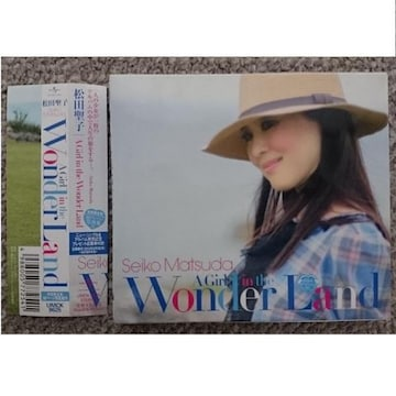 KF  松田聖子  A Girl in the Wonder Land  初回盤