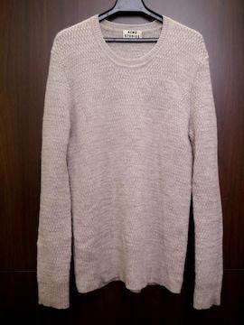 美品◆ACNE STUDIOS アクネ アルパカ混ウール ニット セーター