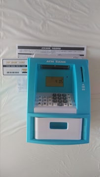 ☆ATM☆貯金箱☆説明書有☆