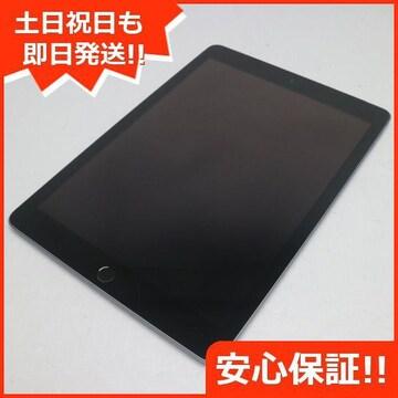 ●新品同様●SIMフリー iPad 第6世代 32GB スペースグレイ●