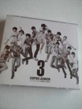 CD+DVDSuper Junior 第3集 SORRY,SORRY送料込み