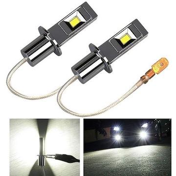 LEDフォグランプ H3 6000k12V/24V兼用