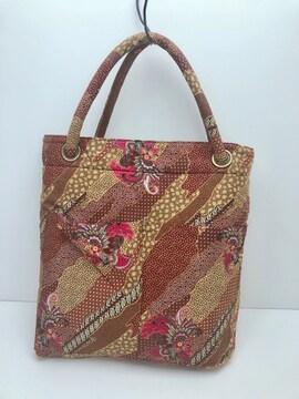 B199 美品★ 和装バッグ トートバッグ 布製
