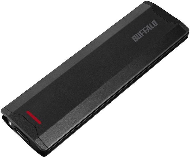 BUFFALO USB3.1(Gen2)対応 ポータブルSSD 1TB SSD-PH1.0U3-BA  < PC本体/周辺機器の