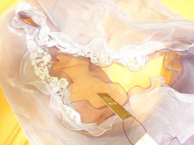 ☆新品タグ付☆パールlineと光沢シフォンのストール☆3点で即落 < 女性ファッションの