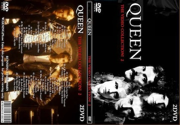 クイーン THE VIDEO COLLECTION! 2 全46曲 プロモPV集 Queen