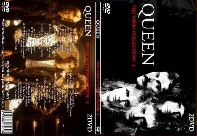 クイーン THE VIDEO COLLECTION! 2 全46曲 プロモPV集 Queen  < タレントグッズの