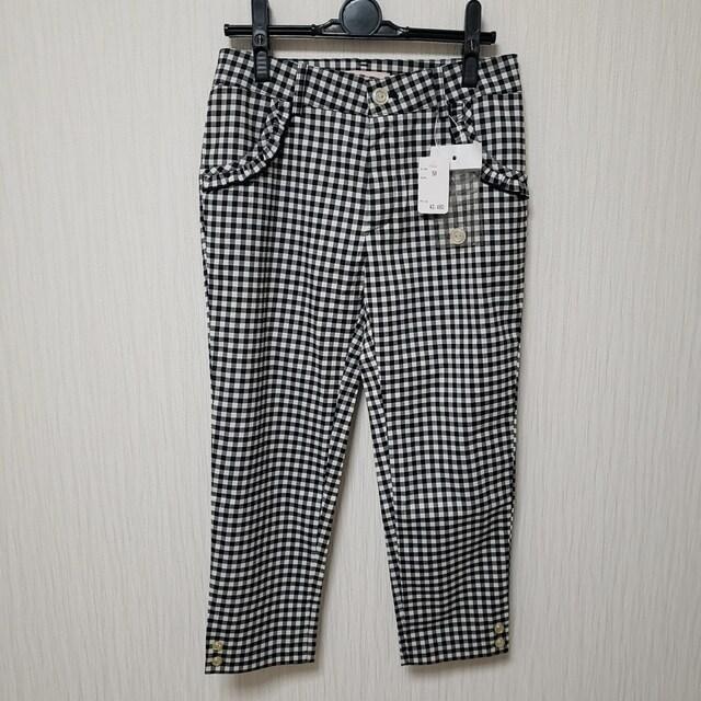 IMAGE W58 ギンガムチェック パンツ ズボン  < 女性ファッションの