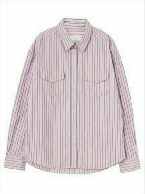 新品◆Ungridアングリッド◆マルチカラーストライプシャツ◆完売 < ブランドの
