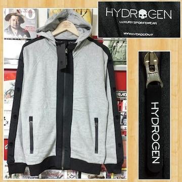 購入51840円 HYDROGEN ハイドロゲン スウェットパーカー S 新品未使用
