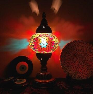 トルコ モザイクランプ 照明