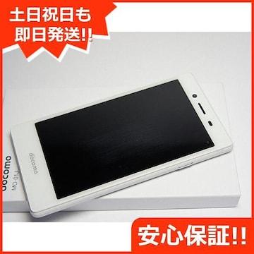 ◆安心保証◆新品未使用◆MO-01J MONO ホワイト◆