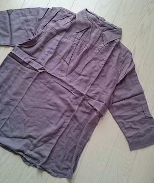 ゆるてろスキッパーシャツ★M★新品★
