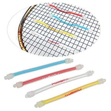 スカッシュ テニスラケット用 ー 振動吸収 振動止め 4色セット