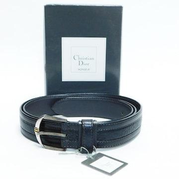 未使用Diorクリスチャン ディオール ベルト  黒 良品 正規品