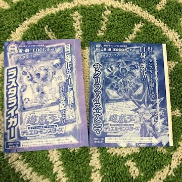 遊戯王 デュエルモンスターズ  カード 週刊少年ジャンプ