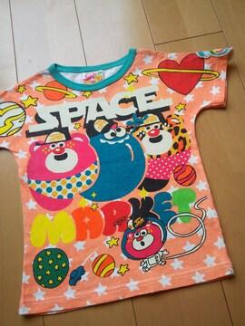 中古宇宙テンチョーTシャツ120JAM