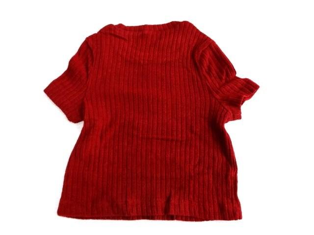 新品 GRL グレイル ピチピチ 半袖 ニット セーター  ヘソ出し < ブランドの