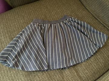フレアスカート140センチ
