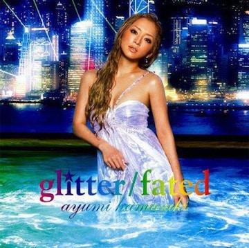 浜崎あゆみ glitter/fated(CD)