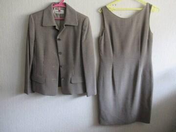 人気ブランド&新品同様&国産★SCAPA★毛/灰系/M-L