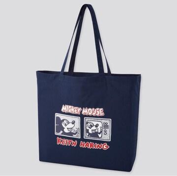 【新品 】キースヘリング × ミッキーマウス ショルダーバッグ
