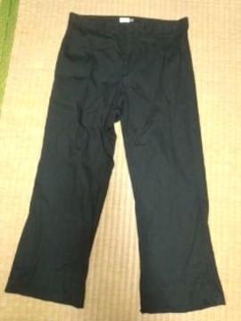 GAP 黒パンツ W約82