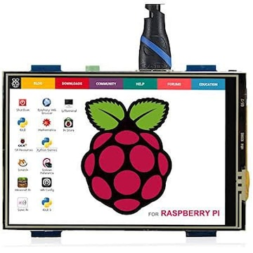 ELECROW 3.5インチ モバイルモニター Raspberry Pi用 3.5インチ