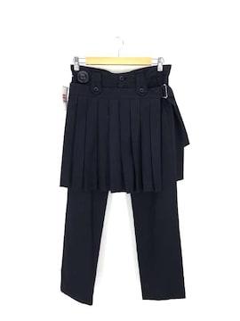 Ys(ワイズ)プリーツスカート付きパンツパンツ
