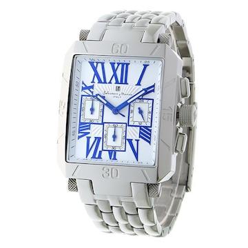 サルバトーレマーラ クロノグラフ  腕時計 SM17117-SSWHBL