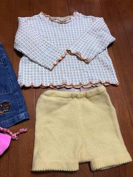 女の子子供服☆水着入まとめ売り4枚90〜100cm
