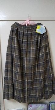 しまむら♪プチプラのあやさんプリーツロングスカート未使用品