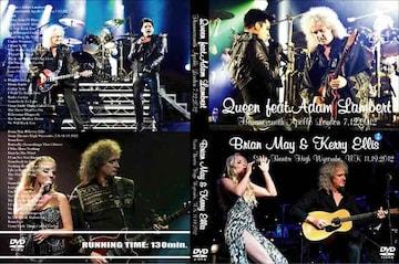 Queen + Adam Lambert Brian May & Kerry Ellis 2012 最新ライブ