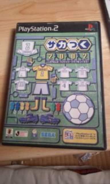 プレステ2    サッカーゲーム  4本  < ゲーム本体/ソフトの