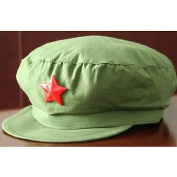 未使用 中国軍65式制帽(人民帽)ベトナム戦争 中越戦争 文革