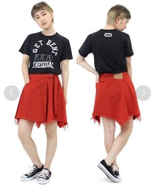☆RNA アシンメトリーフレアラップスカート☆