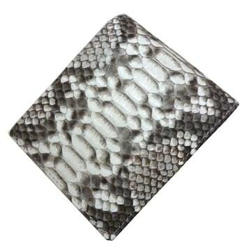 パイソン 財布  両面  二つ折り 大容量 カード入れSNW-294DS