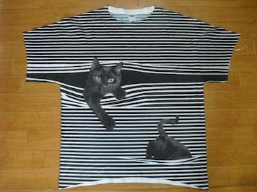 JERZEES 猫ちゃん アニマル Tシャツ USA−L 新品