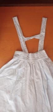 ポンポネット スカート 160cm L 美品 ストライプ