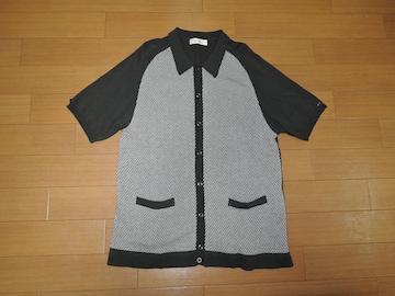 ラディアル RADIALL コットンサマーニット ポロシャツ M 灰系