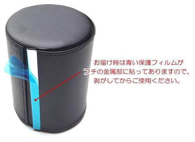 ♪M 出張 旅行 持ち運びに フェイクレザー製のネクタイケース/NV < 男性ファッションの
