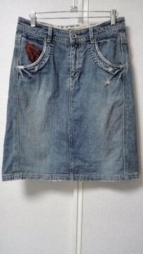 ◆◆CUBE SUGAR◆◆キューブシュガーデニムスカート