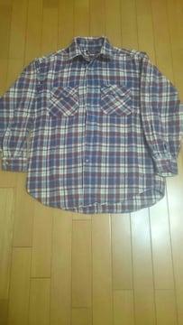 Wrangler チェックネルシャツ