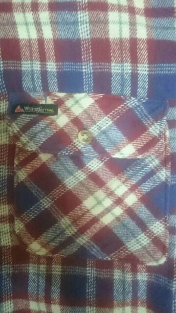 Wrangler チェックネルシャツ < ブランドの