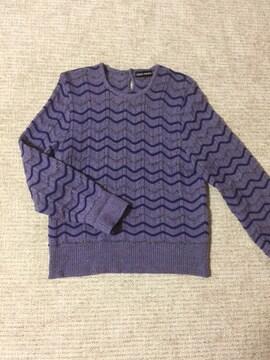 601.ミックスカラーニット☆セーター☆サイズF