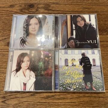 【YUI】シングル4セット (訳あり)