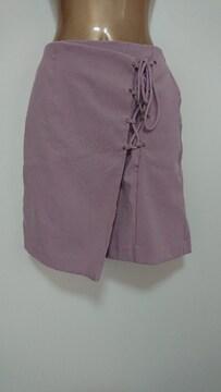 ヘザーFピンクミニスカート