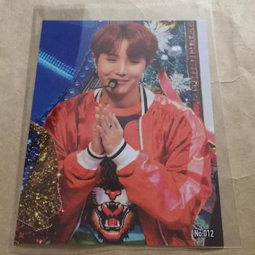 BTS☆ブロマイドカード☆J-HOPE☆No.012