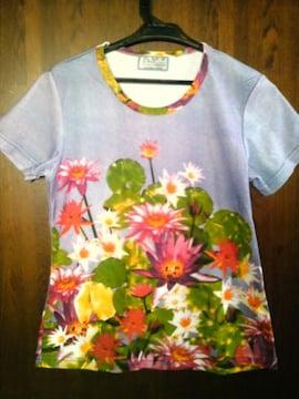 和柄花鳥風月 Tシャツ