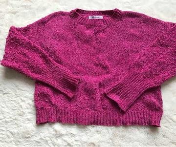 ROSE  BUD  セーター フリーサイズ
